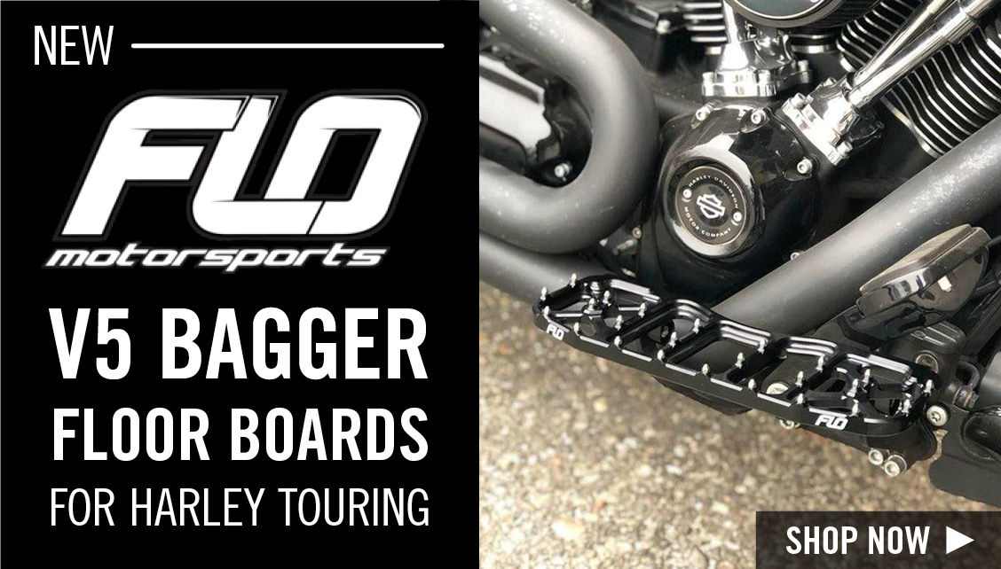 Flo Harley V5 Floorboards