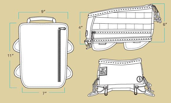 Biltwell Exfil 115 Tank Bag