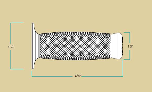 Biltwell Renegade Grips Measurements