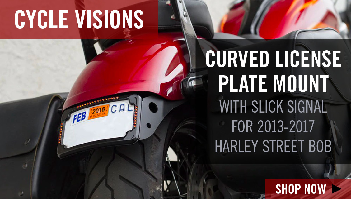 Cycle Visions License Plate Bracket