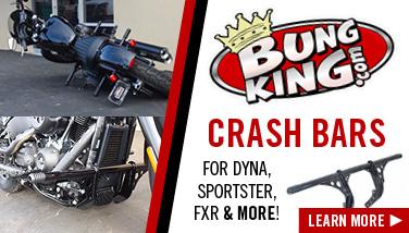 Bung King Harley Crash Bar