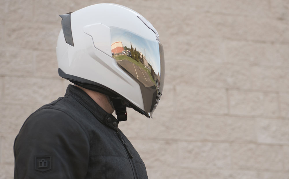 Icon Airflite Helmet Face Shield Colors Get Lowered Cycles