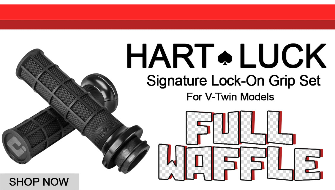ODI Hart-Luck Waffle Grips