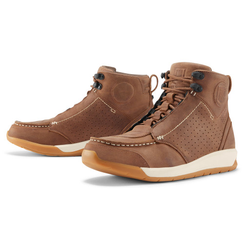 Icon 1000 Truant 2 Boots - Brown - Get Lowered Cycles