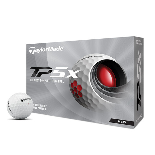 TaylorMade TP5X Balls 2021