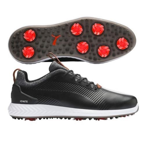 Puma IGNITE PWRADAPT Leather 2.0 Golf Shoes