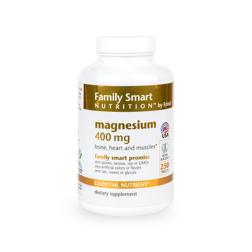 Magnesium - 400 mg with Nutrient-Rich Spirulina*