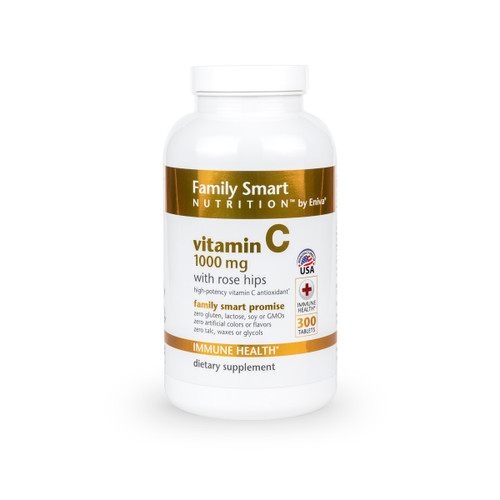 Vitamin C - 1000mg with Rose Hips (300 count)