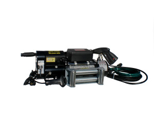 10,000 lbs. 12 Volt Electric Winch with Pressure Washer