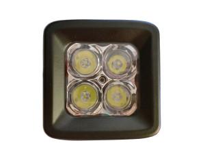 20 Watt LED Light Pair with Harness(Cree)E2,Spot Pattern