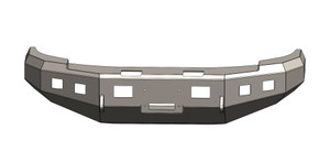 BUMPER FOR CHEVY 2007.5-2010, 2500-3500