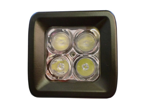 20 Watt LED Light Pair with Harness(Cree)E2,Flood Pattern