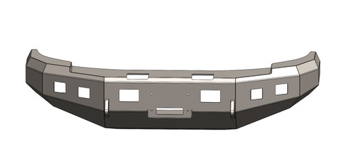 BUMPER FOR GMC 2007.5-2010, 2500-3500