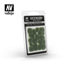 Scenery Tufts: Strong Green: Extra Large (12mm)