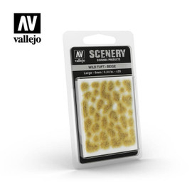Scenery Tufts: Beige: Large (6mm)