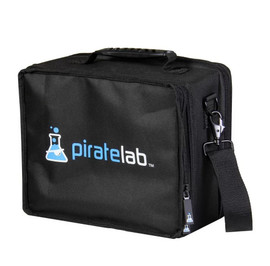 Pirate Lab Small Card Case - Black with Pirate Lab Logo