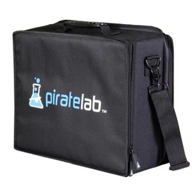 Pirate Lab Large Card Case - Black with Pirate Lab Logo
