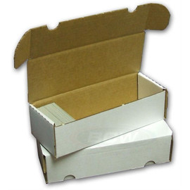 Cardboard Box: 550 Count Card Storage Box
