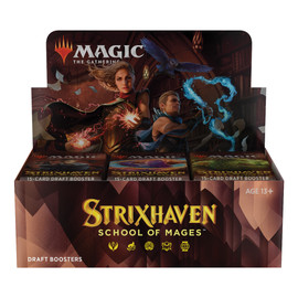 Magic: Booster Display: Strixhaven: Draft Boosters | 36 Packs (540 Magic Cards)
