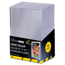 UV-Resistant Mini Snap Card Holders (10 count)