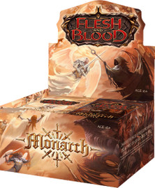 Flesh and Blood: Monarch Booster Display 1st Edition