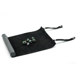 Rollable leatherette dice mat - View 1
