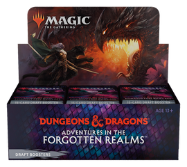 Magic: Booster Display: Adventures in the Forgotten Realms: Draft Boosters | 36 Packs (540 Magic Cards)
