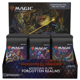 Magic: Booster Display: Adventures in the Forgotten Realms: Set Boosters | 30 Packs (360 Magic Cards)