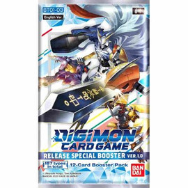 Digimon TCG: Booster Pack: Release Special Booster Ver 1.0
