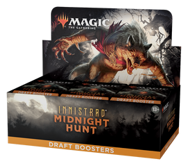Magic: Booster Display: Innistrad: Midnight Hunt: Draft Boosters | 36 Packs (540 Magic Cards)