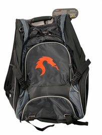 """Backpack: 17"""" Computer Backpack with Relentless Dragon Logo"""