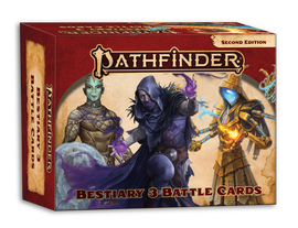 Pathfinder RPG: 2nd Edition: Bestiary 3: Battle Cards