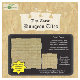 A box of Dungeon Tiles Dry Erase Tiles - Combo Pack