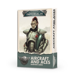 Aeronautica Imperialis: Aircraft and Aces Cards: Asyurani - Product Packaging