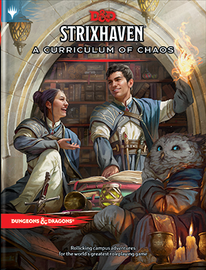 Dungeons & Dragons: 5th Edition: Strixhaven: Curriculum of Chaos