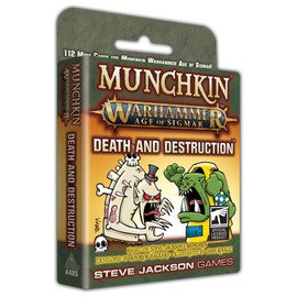 Munchkin: Warhammer: Age of Sigmar: Death & Destruction