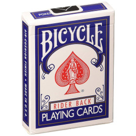 Bicycle Playing Cards (may be red- or blue-backed)