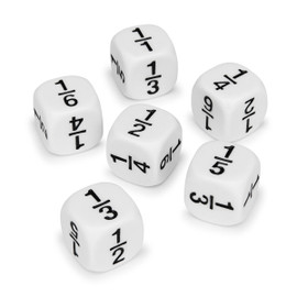 Educational: Fraction Dice (2 count)