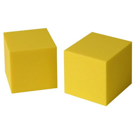 Specialty: Foam Dice 2  Blank (2 count)