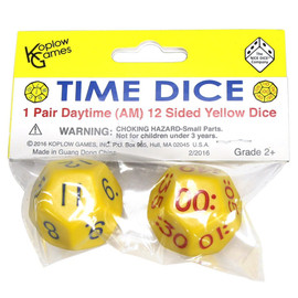 Time Dice: Daytime Set