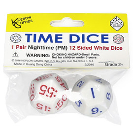 Time Dice: Nighttime Set