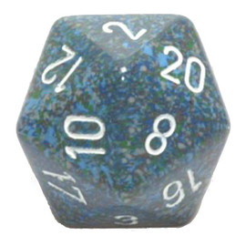 d20: 34mm: Speckled Sea