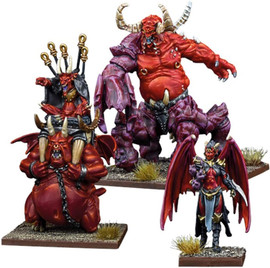 Kings of War: Vanguard: Abyssal Warband Booster