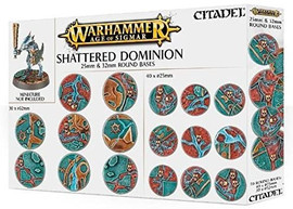 Age of Sigmar: Shattered Dominion: 25mm & 32mm Round Bases