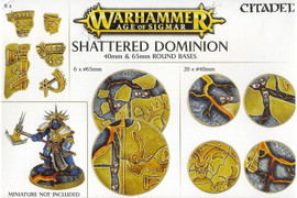 Age of Sigmar: Shattered Dominion: 40mm & 65mm Round Bases