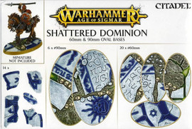 Age of Sigmar: Shattered Dominion: 60mm & 90mm Oval Bases