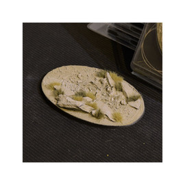 Bases (Pre-made): Arid Steppe Oval 105mm (x1)