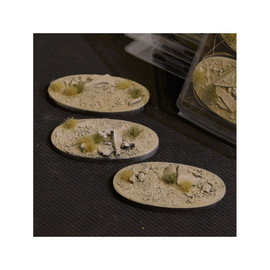 Bases (Pre-made): Arid Steppe Oval 75mm (x3)
