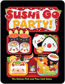 Sushi Go Party! - The Deluxe Pick & Pass Card Game