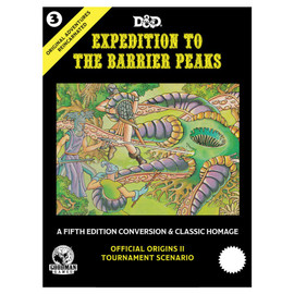 Original Adventures Reincarnated: Expedition to the Barrier Peaks
